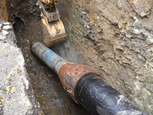 Pipe Bursting | Mainline Bursting | Trenchless Pipe